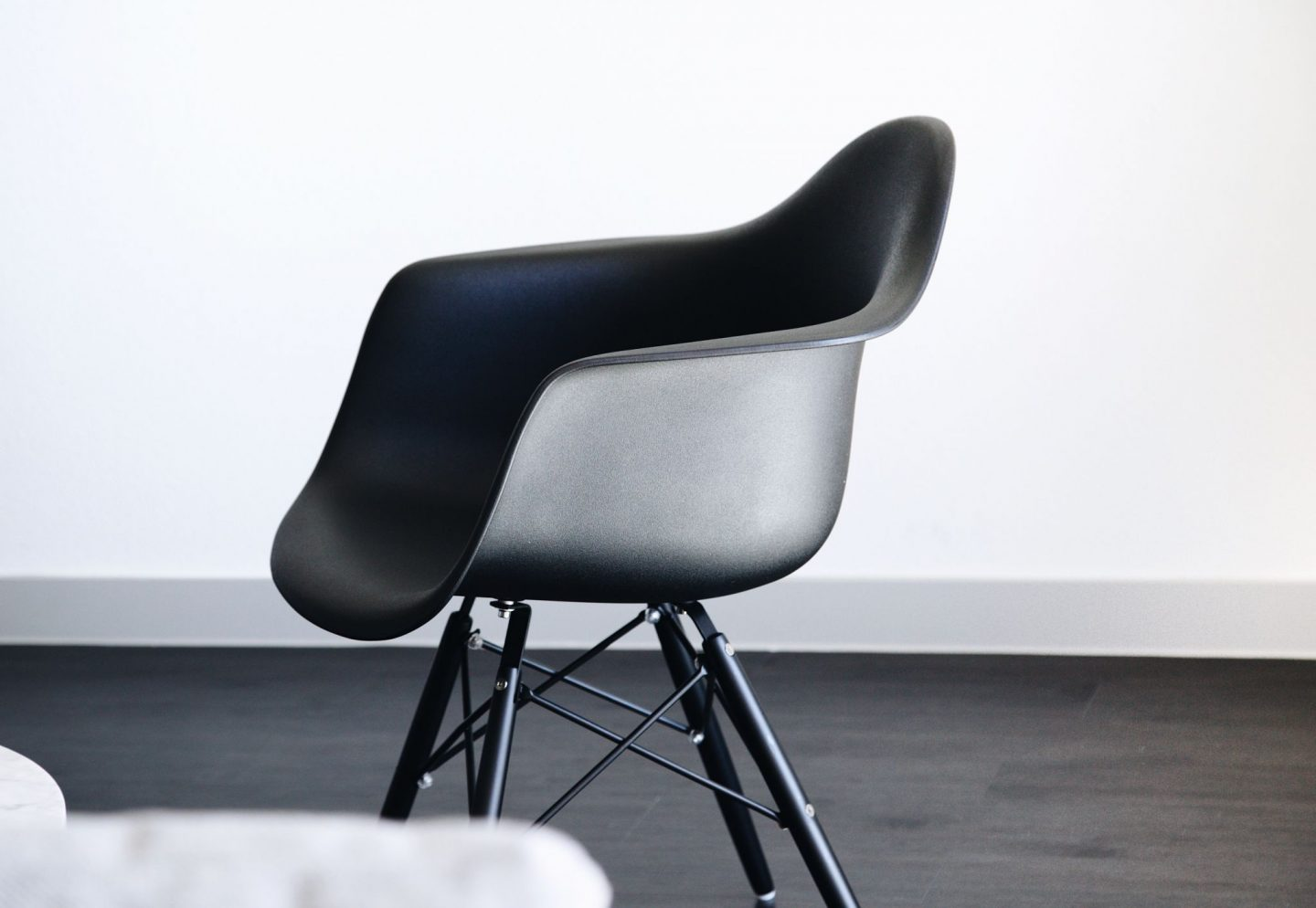 black eames chair // time for change