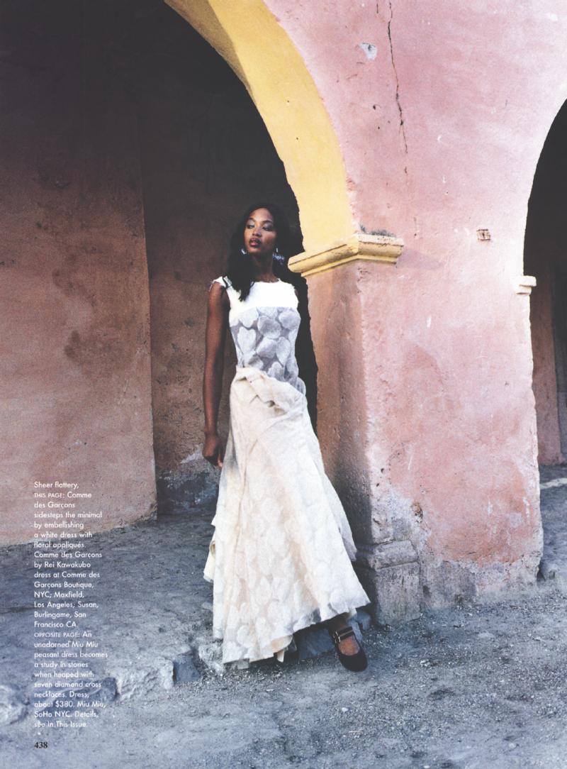 Naomi Campbell Vogue 1998