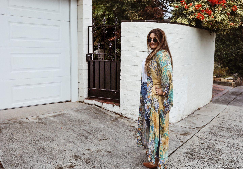 willow kimono
